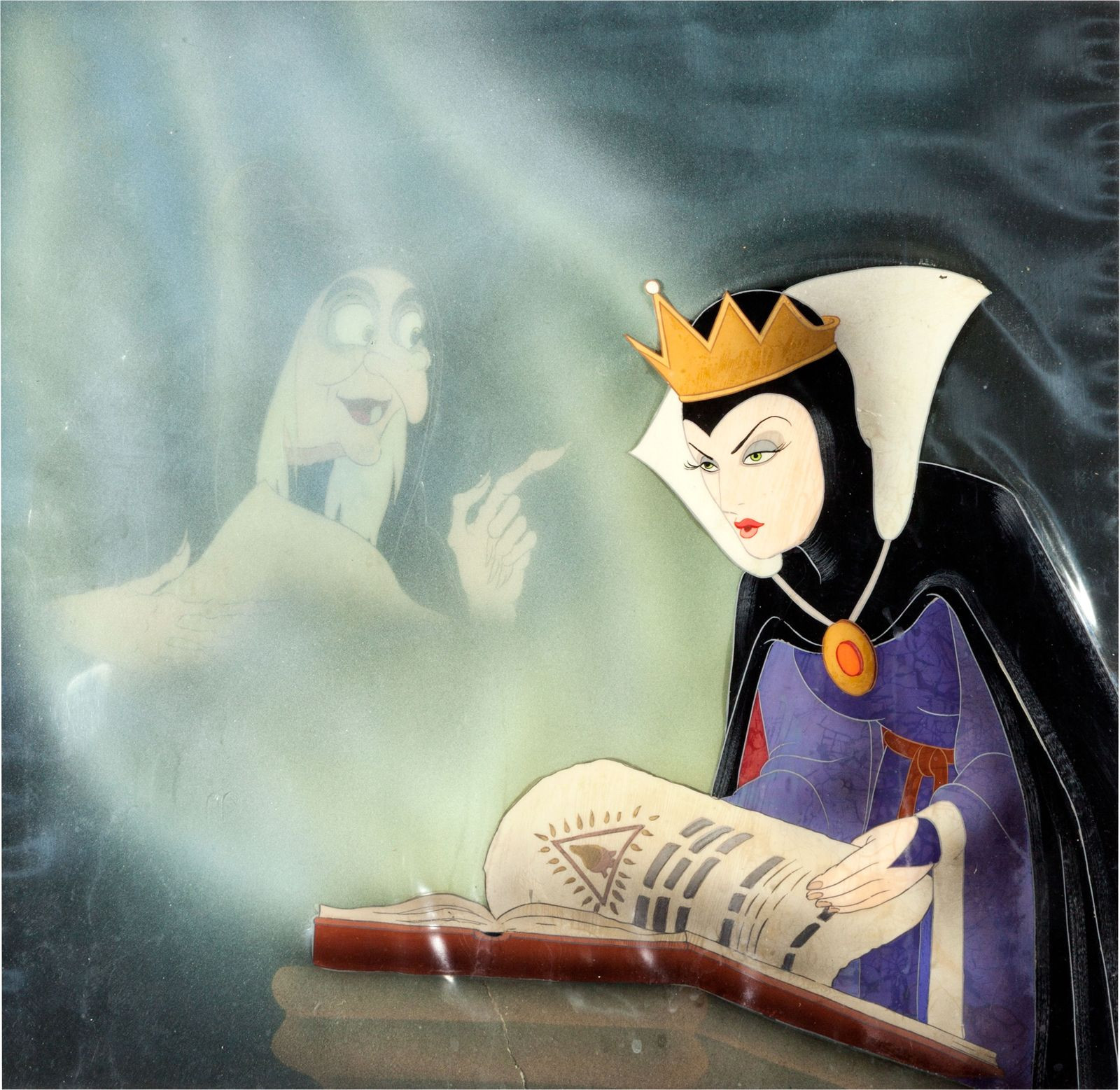 The Evil Queen in Snow White and the Seven Dwarfs