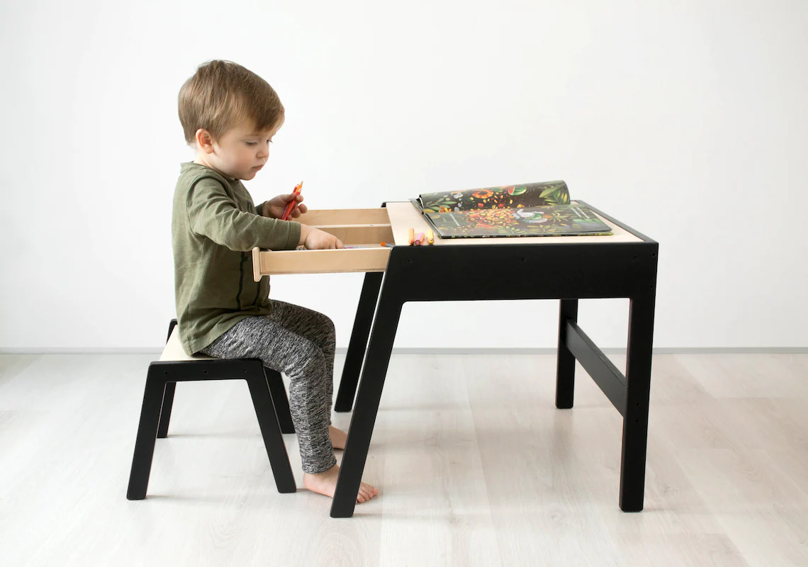 table with drawer for your children