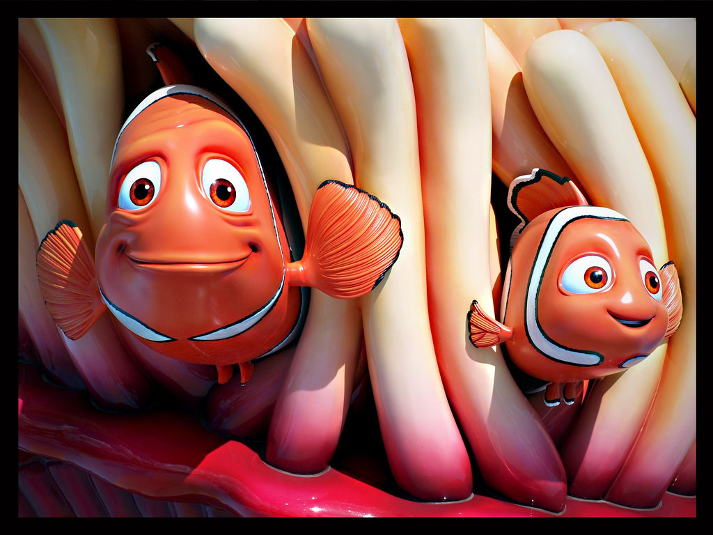 Nemo and Father Marlin